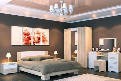 Спальня Какао и крем
